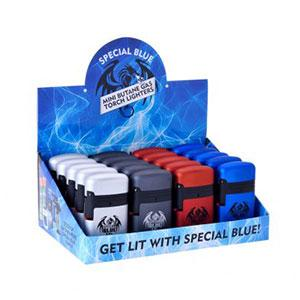 SPECIAL BLUE CLASSIC DOUBLE METAL LIGHTER DISPLAY