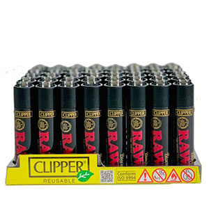 RAW CLIPPERS LARGE BLACK LIGHTERS