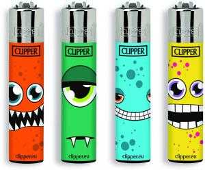 CLIPPERS SMOKING MONSTER LIGHTERS