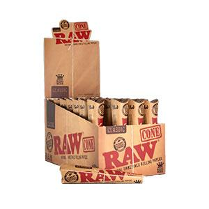 RAW CLASSIC PRE-ROLLED CONES