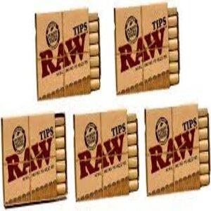 RAW  PREROLLED TIPS