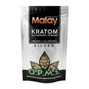 OPMS KRATOM SILVER GREEN VEIN MALAY