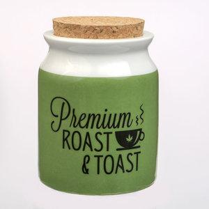ROAST AND TOAST STASH JAR