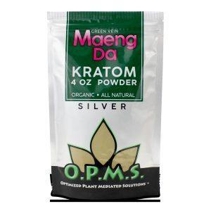 OPMS KRATOM SILVER RED VEIN MAENG DA POWDER