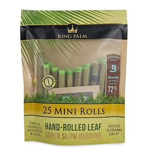 KING PALM 25 MINI ROLLS