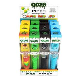 OOZE PIPER HAND PIPE ASSORTED 12CT