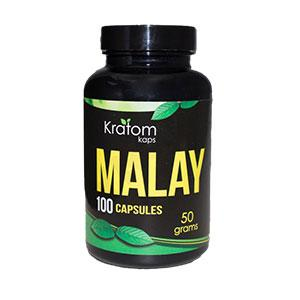 KRATOM KAPS MALAY BOTTLES
