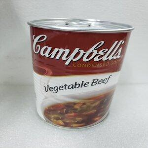 SAFETY CANS - CAMPBELLS VEGETABLE BEEF